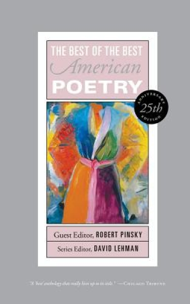<strong>The Best of the Best American Poetry: 25th Anniversary Edition,</strong> 2013