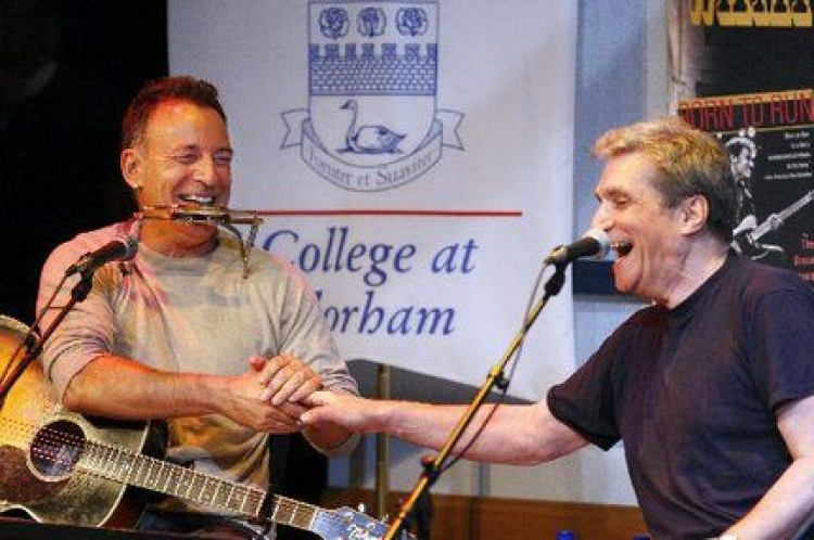 Robert Pinksy at Farleigh Dickinson College at Florham (photo)