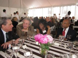 Robert Pinsky with table mates