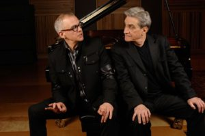 Laurence Hobgood with Robert Pinsky