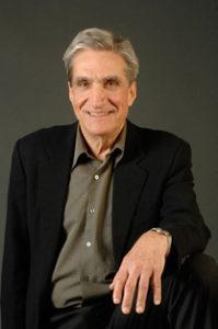 Robert Pinsky seated