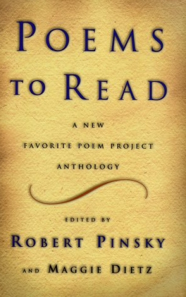 <strong>Poems to Read: A New Favorite Poem Project Anthology,</strong> 2002